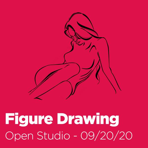 Open Studio: Figure Drawing - 09/20/20