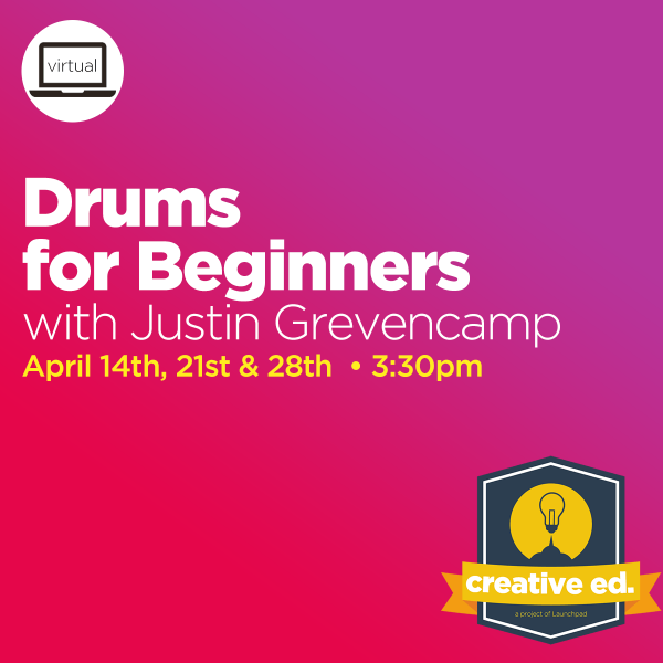 04/14/2021: Drums for Beginners