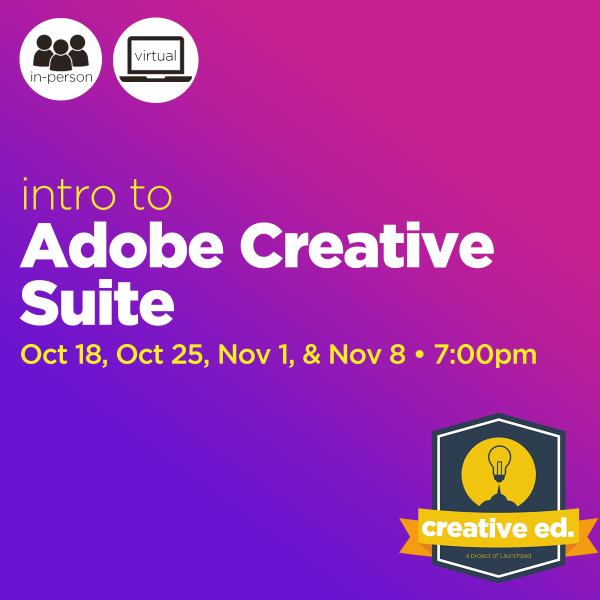 10/18/2021: Intro to Adobe Suite
